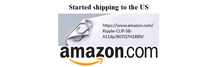 Ripple CLIP on amazon